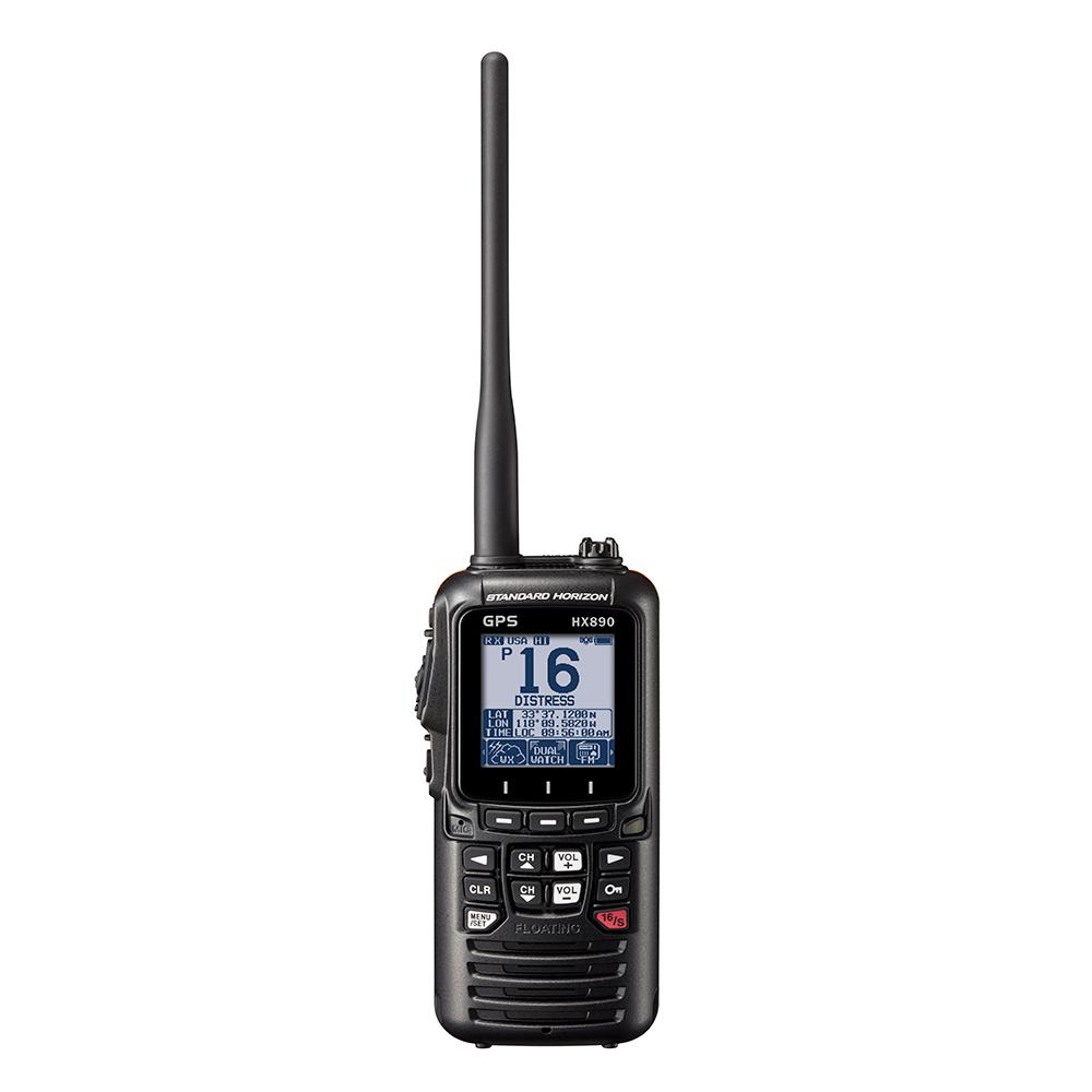Standard Horizon HX890 Black Handheld VHF - 6W - HX890BK