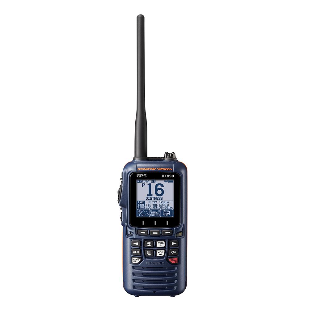 Standard Horizon HX890 Navy Blue Handheld VHF - 6W - HX890NB