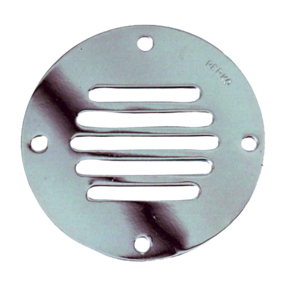 Perko Chrome Plated Brass Round Locker Ventilator - 2-1/2