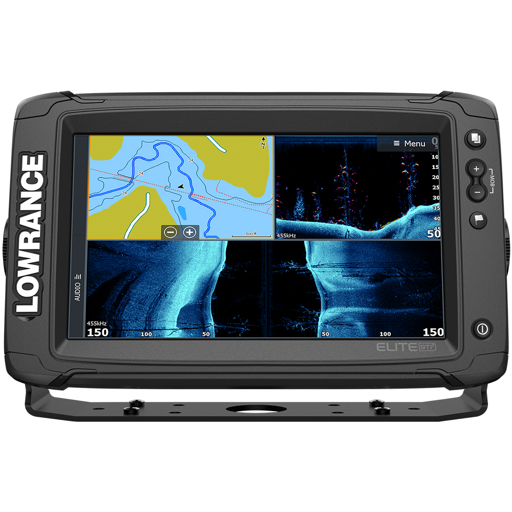 Lowrance Elite-9 Ti² Combo with Active Imaging 3-in-1 Transom Mount Transducer & US/Canada Nav+ Chart - 000-14649-001