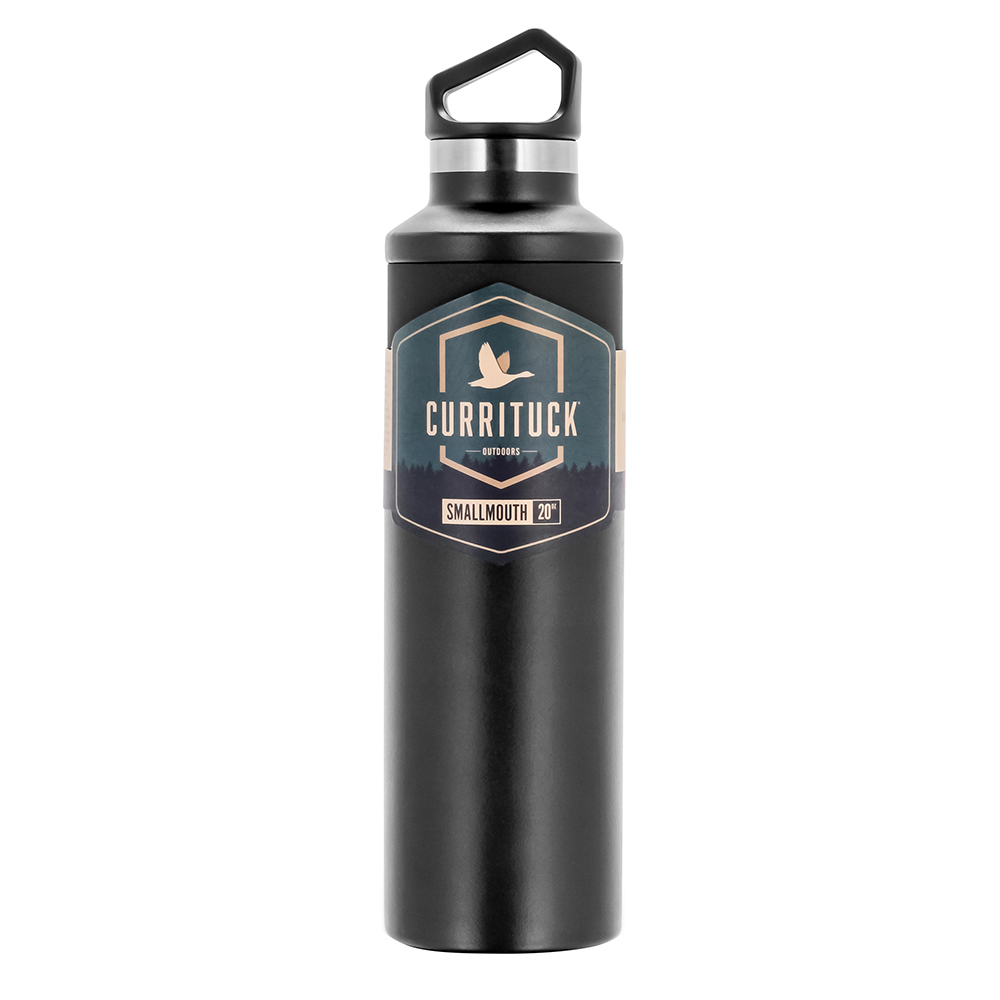 Camco Currituck Standard Mouth Beverage Bottle - 20oz - Charcoal - 51942