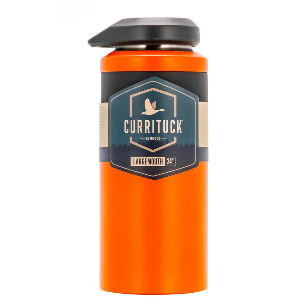 Camco Currituck Wide Mouth Beverage Bottle - 24oz - Orange