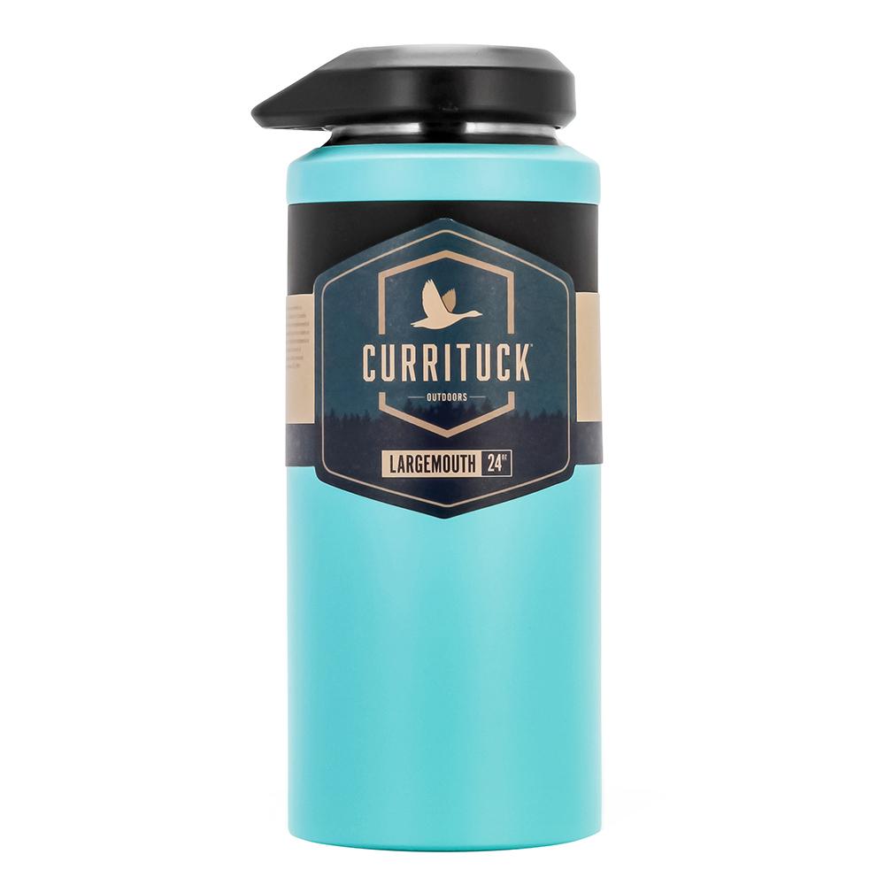 Camco Currituck Wide Mouth Beverage Bottle - 24oz - Seafoam - 51945