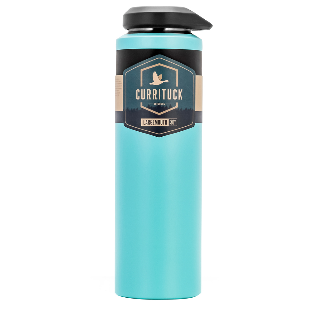 Camco Currituck Wide Mouth Beverage Bottle - 36oz - Seafoam - 51949