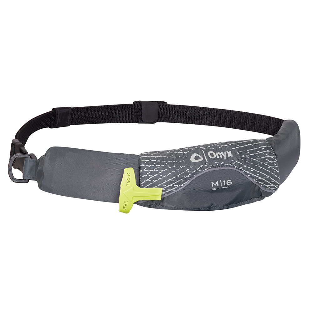 Onyx M-16 Manual Inflatable Belt Pack - Grey - 130900-701-004-19