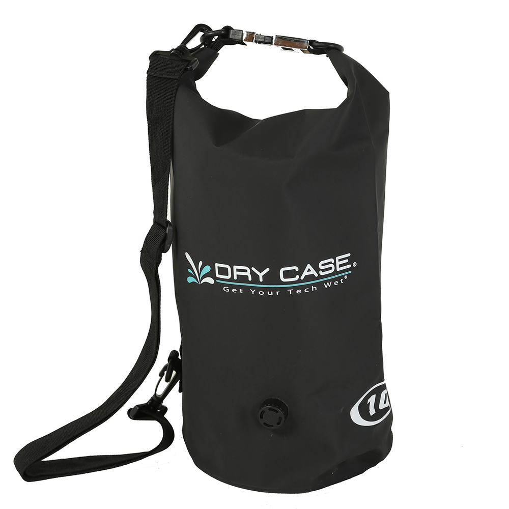 DryCASE Deca 10 Liter Waterproof Dry Bag - Black - BP-10-BLK