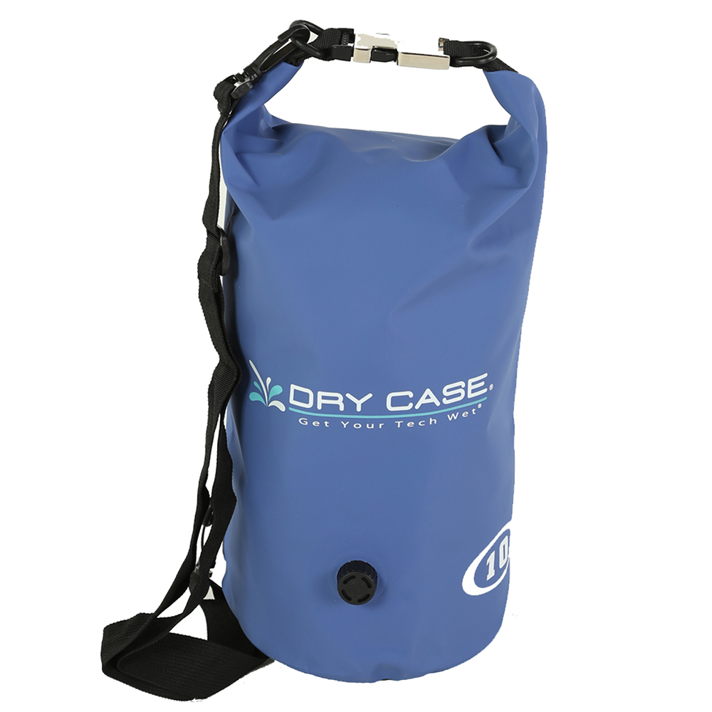 DryCASE Deca 10 Liter Waterproof Dry Bag - Blue - BP-10-BLU