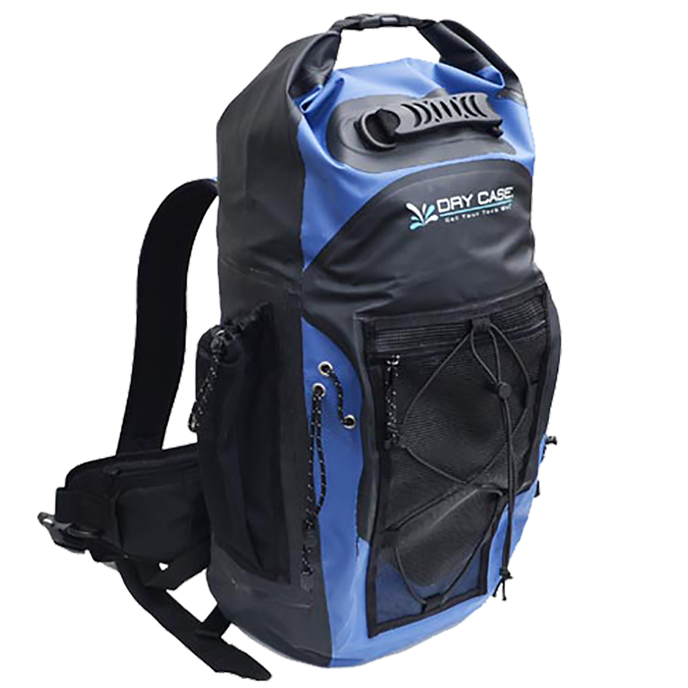 DryCASE Masonboro Blue 35 Liter Waterproof Adventure Backpack - BP-35-BLU