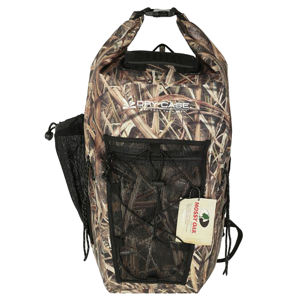 DryCASE Mossy Oak Shadow Grass Blades 35 Liter Waterproof Backpack - MO-35-SGB
