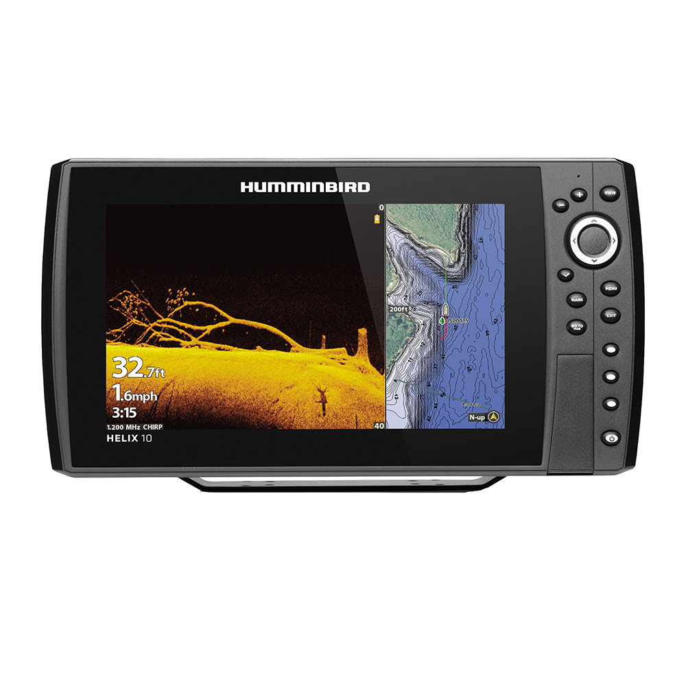 Humminbird HELIX 10 CHIRP MEGA DI Fishfinder/GPS Combo G3N - Display Only - 410880-1CHO