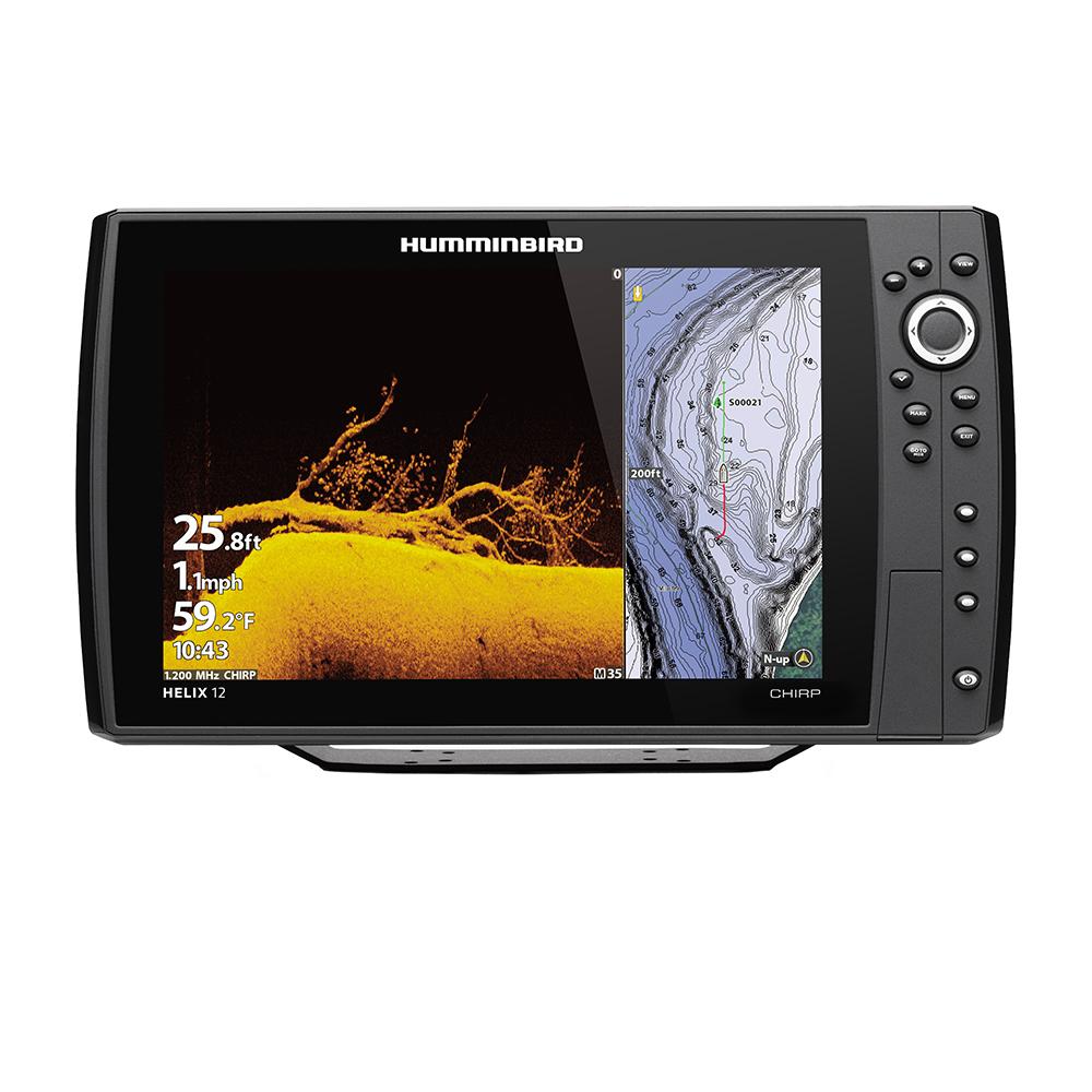 Humminbird HELIX® 12 CHIRP MEGA DI Fishfinder/GPS Combo G3N w/Transom Mount Transducer