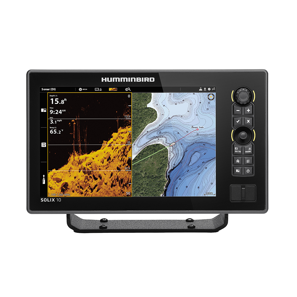 Humminbird SOLIX™ 10 CHIRP MEGA DI Fishfinder/GPS G2 - Display Only