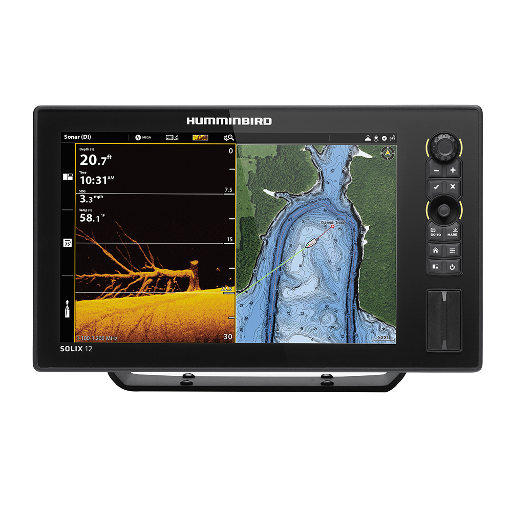 Humminbird SOLIX™ 12 CHIRP MEGA DI Fishfinder/GPS G2 - Display Only
