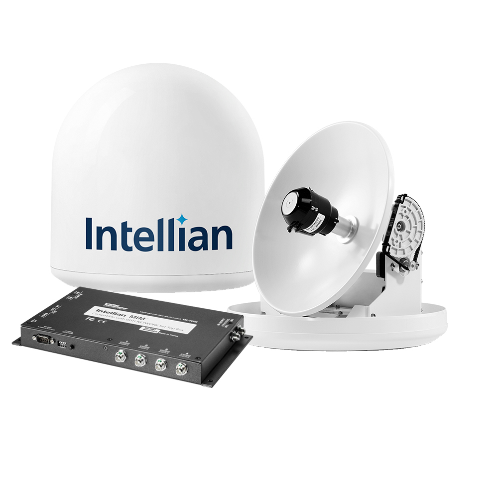 Intellian i2 US System + MIM Switch & 15M RG6 Cable - B4-209DN
