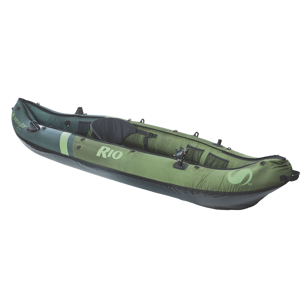 Sevylor Rio™ Inflatable Fishing Canoe - 1-Person