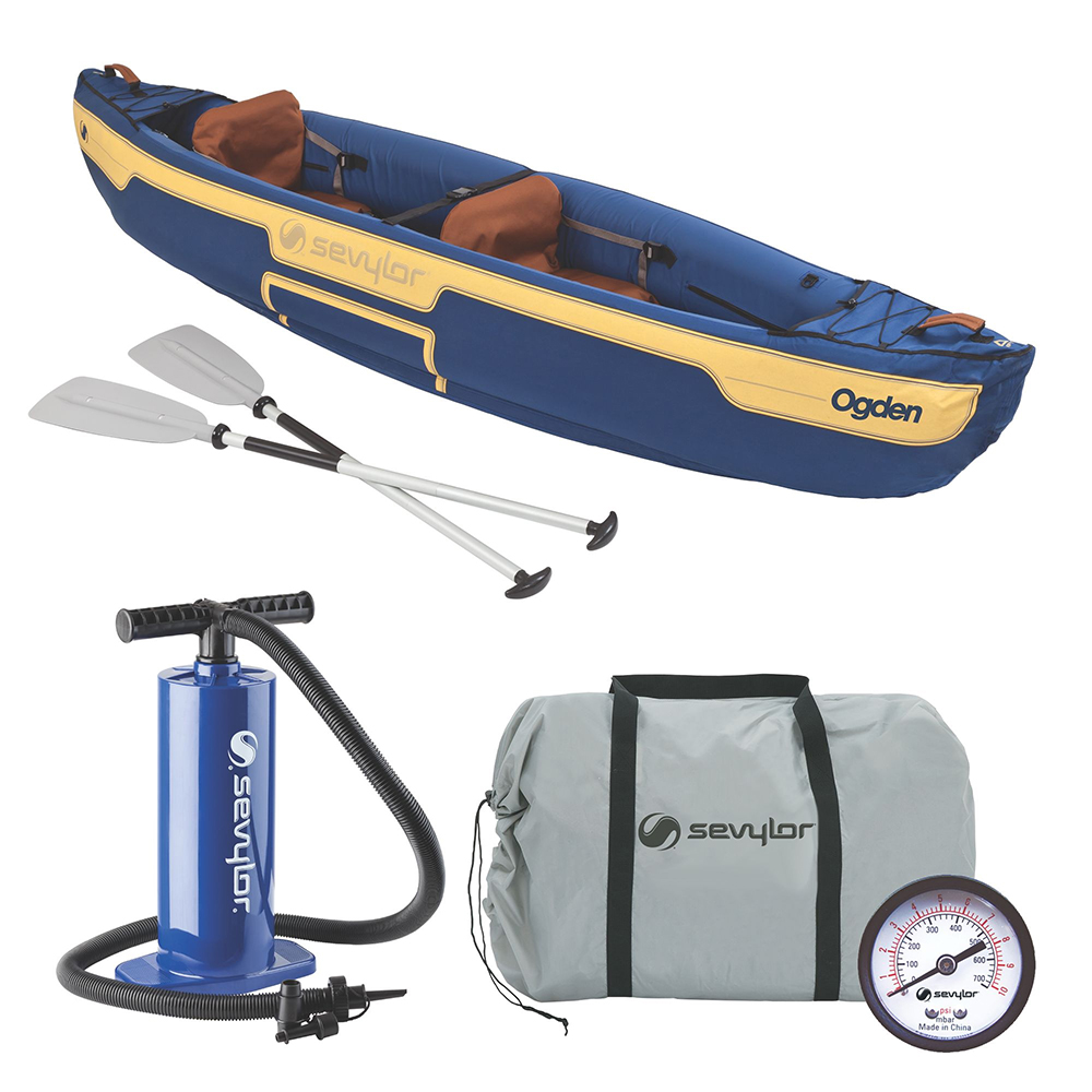 Sevylor Ogden™ Inflatable Canoe Combo - 2-Person
