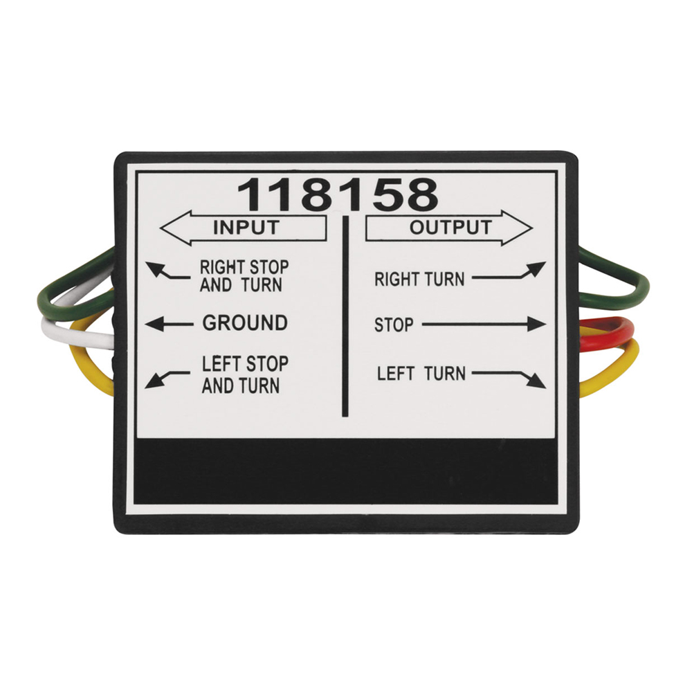 Tekonsha 2 to 3 Taillight Converter - 118158