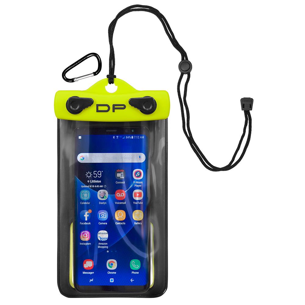 Dry Pak Smart Phone/GPS/MP3 Case - Lemon Lime - 4