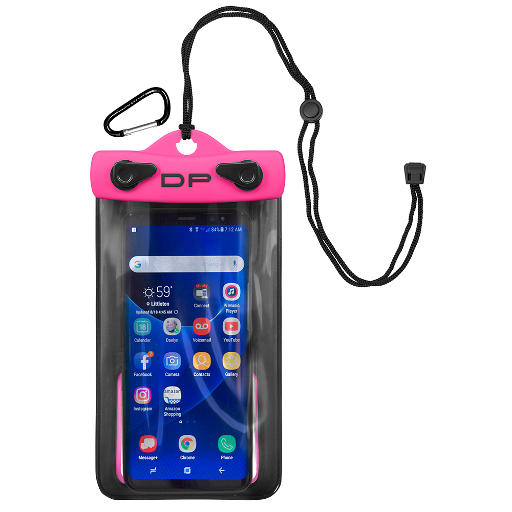 Dry Pak Smart Phone/GPS/MP3 Case - Hot Pink - 4