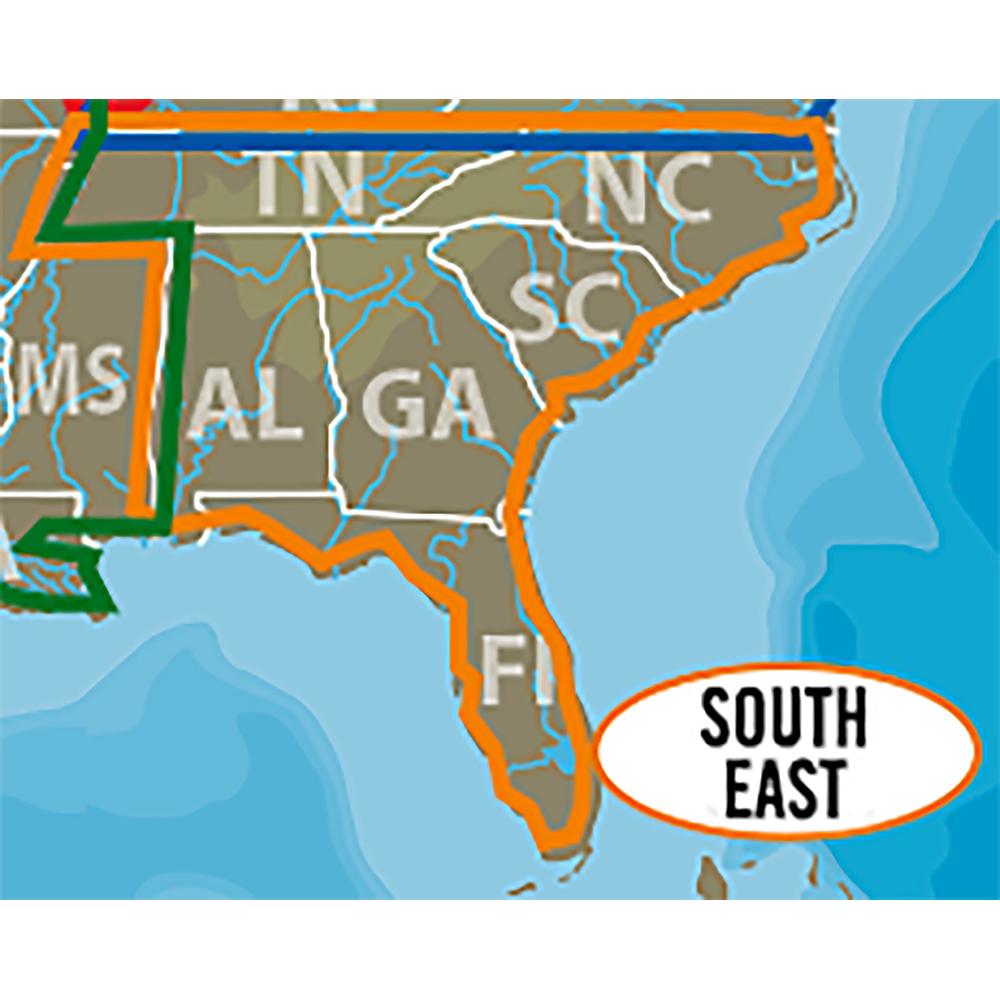 Lowrance C-MAP Lake Insight HD Southeast US - 000-13729-001