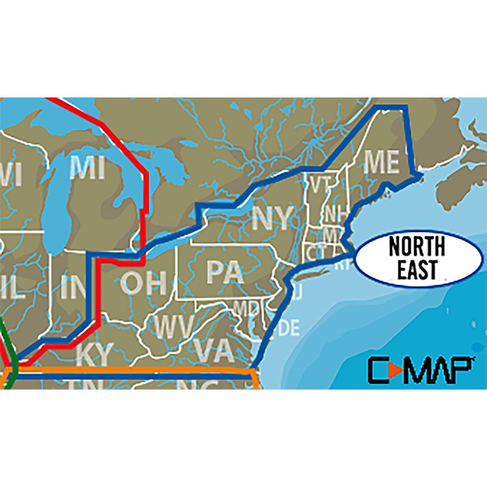 Lowrance C-MAP Lake Insight HD Northeast US - 000-13728-001