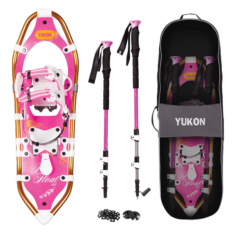 YUKON Women's Pro Float Series Snowshoe Kit 8