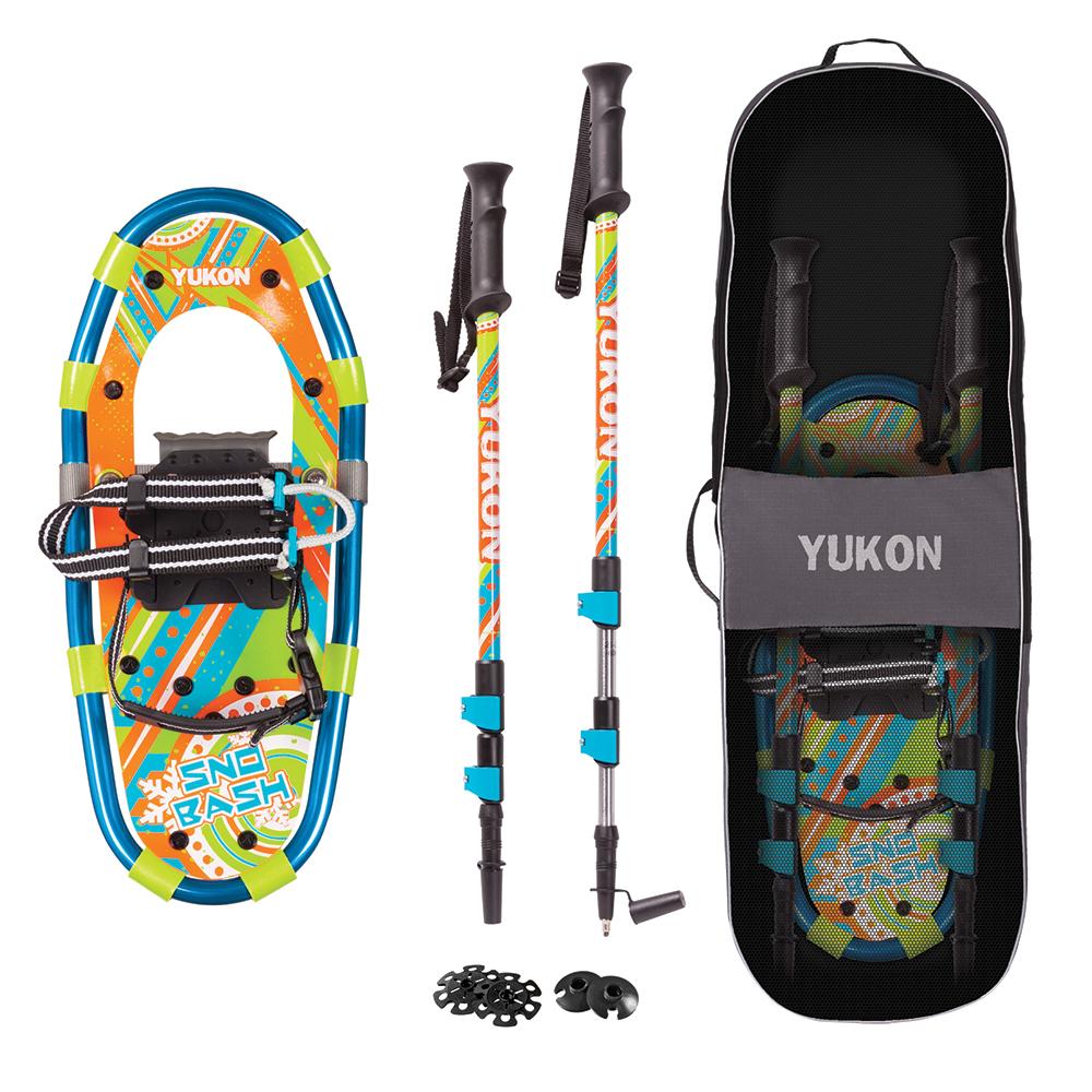 YUKON Sno-Bash Youth Showshoe Kit 7