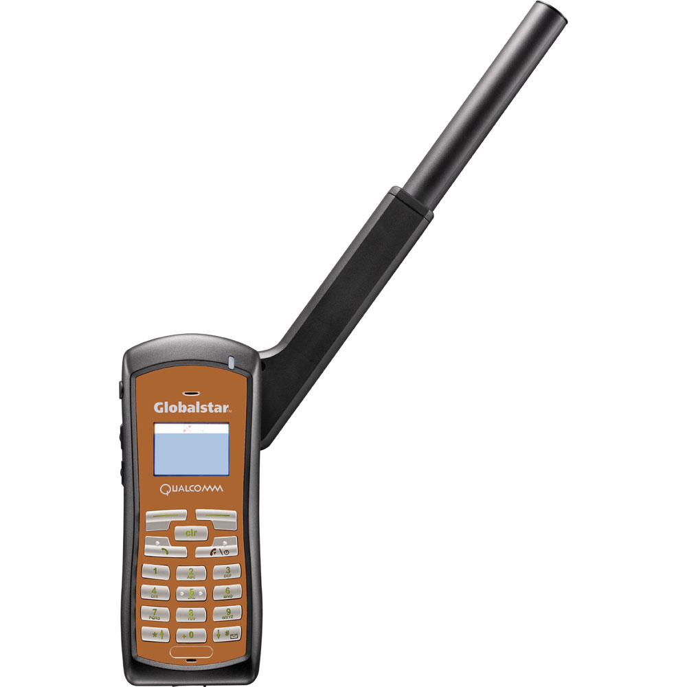 Globalstar GSP-1700 Pre-Owned Satellite Phone Bundle Includes Phone Battery, Wall Charger, Car Charger & Case - GSP-1700PRE-OWNED-BNL