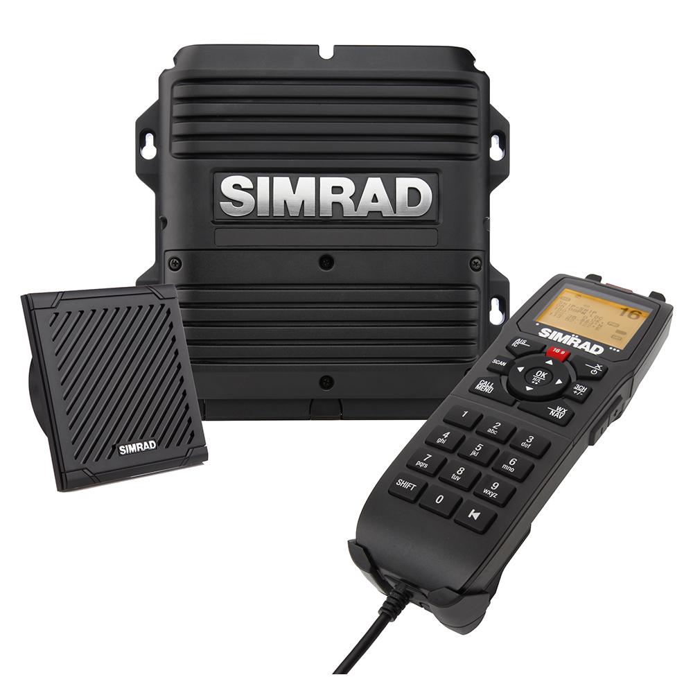 Simrad RS90S VHF Radio Black Box with AIS & Hailer - 000-14531-001