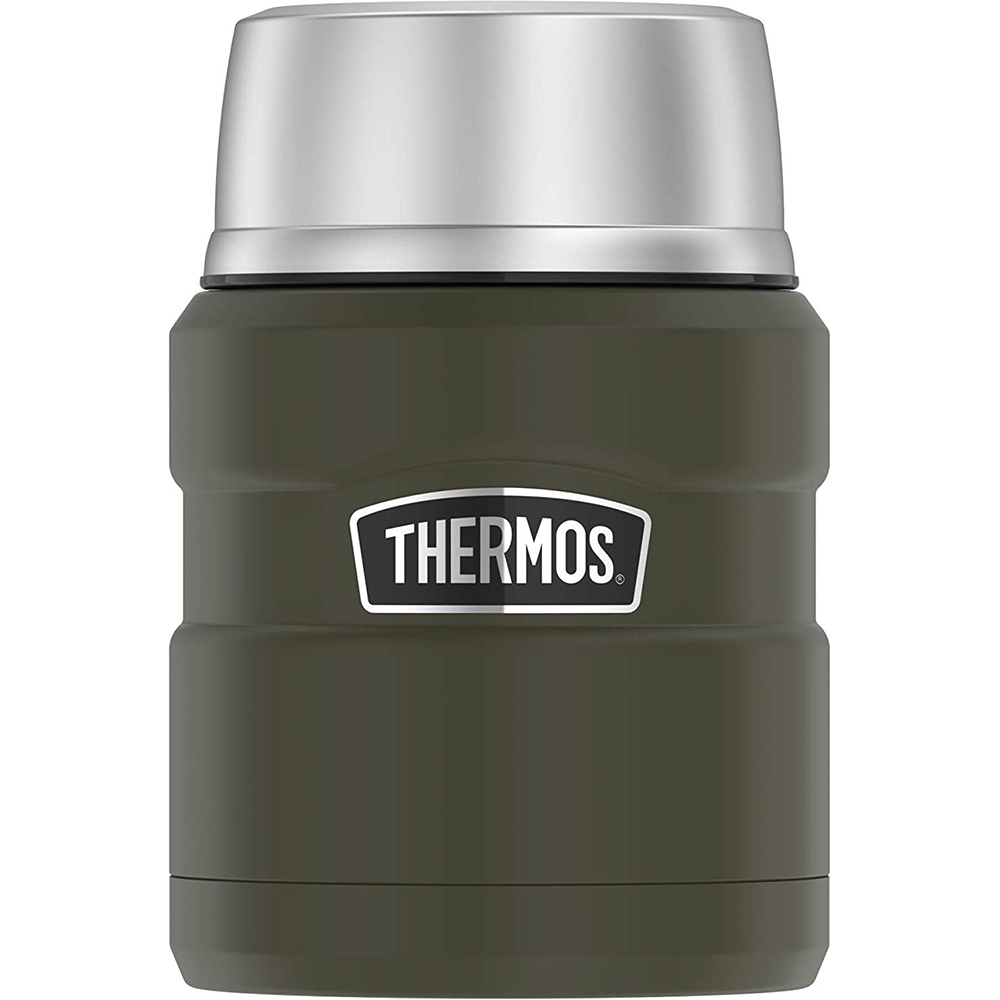 Thermos Stainless King Vacuum Insulated Stainless Steel Food Jar - 16oz - Matte Army Green - SK3000AGTRI4