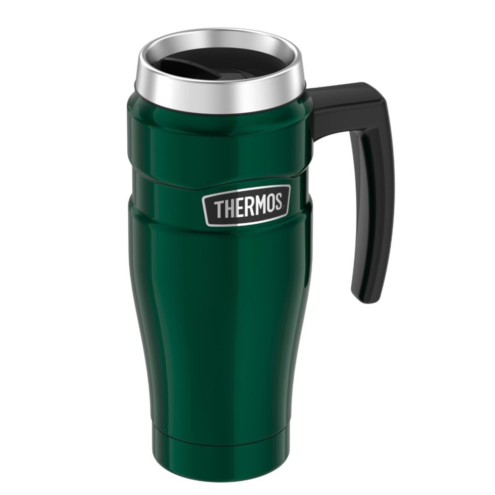 Thermos Stainless King Vacuum Insulated Stainless Steel Travel Mug - 16oz - Pine Green - SK1000PG4