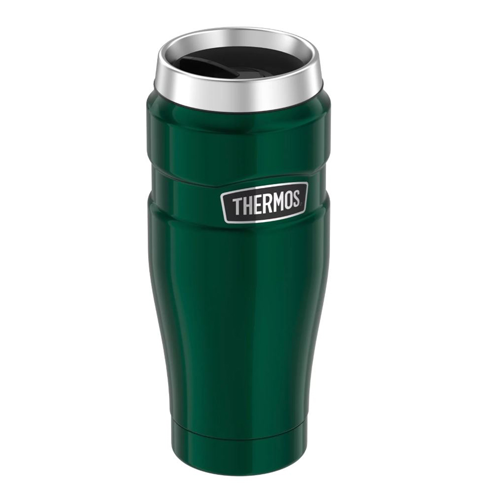 Thermos Stainless King™ Vacuum Insulated Stainless Steel Travel Tumbler - 16oz - Pine Green
