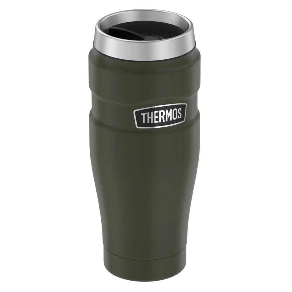 Thermos Stainless King Vacuum Insulated Stainless Steel Travel Tumbler - 16oz - Matte Army Green - SK1005AG4
