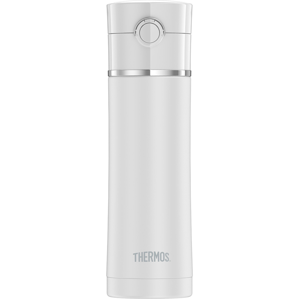 Thermos Sipp Stainless Steel Drink Bottle - 16 oz. - Matte White - NS4028WH4
