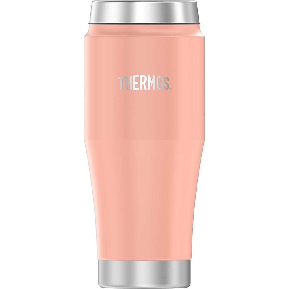 Thermos Vacuum Insulated Stainless Steel Travel Tumbler - 16oz - Matte Blush - H1018BH4