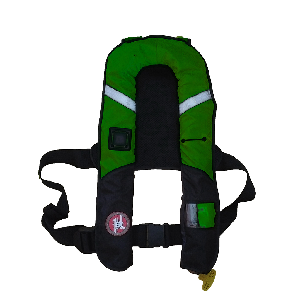 First Watch 38 Gram Pro Inflatable PFD - Manual - Green - FW-38PROM-GN