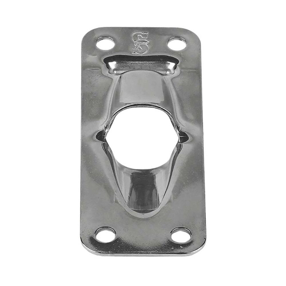Schaefer Exit Plate/Flat for Up To 1/2