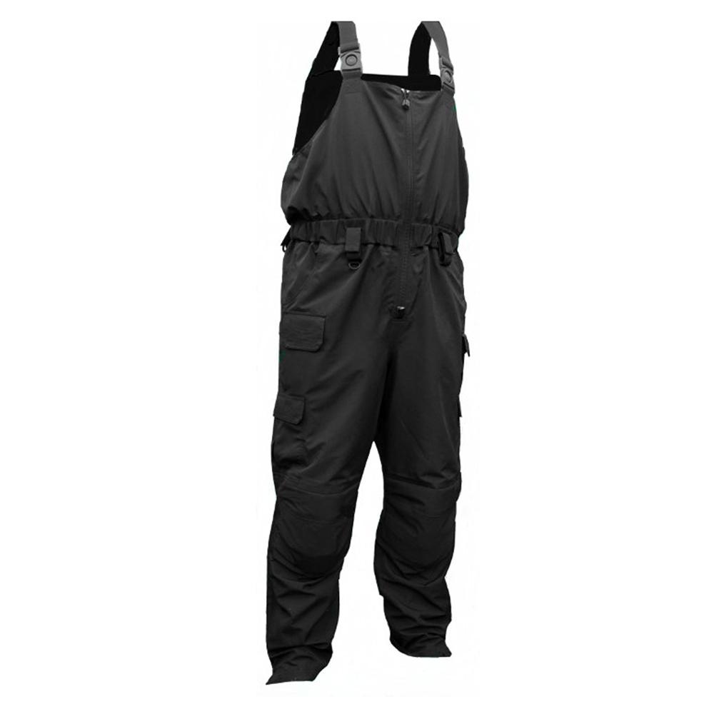 First Watch H20 Tac Bib Pants - Large - Black - MVP-BP-BK-L