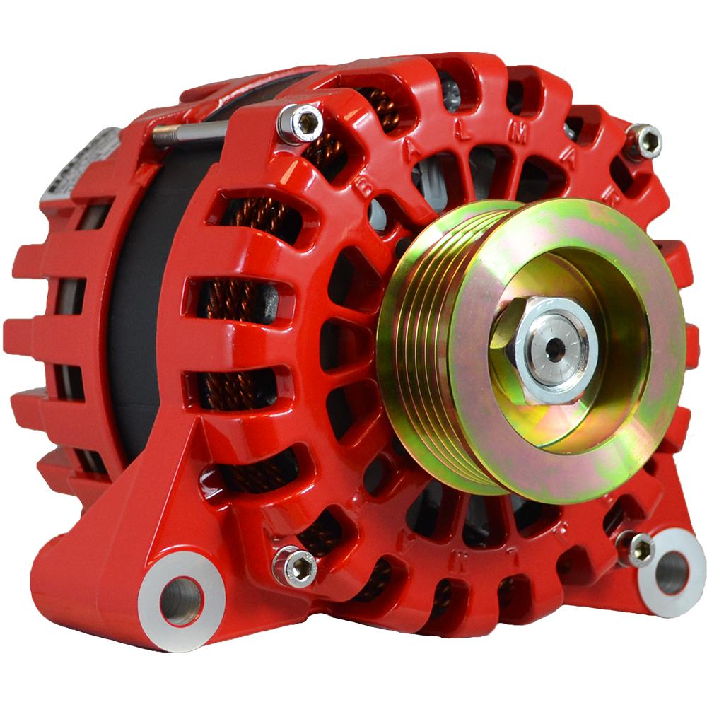 Balmar Alternator Vortec K6 Serpentine Pulley - 170A - 12V - XT-VT-170-K6