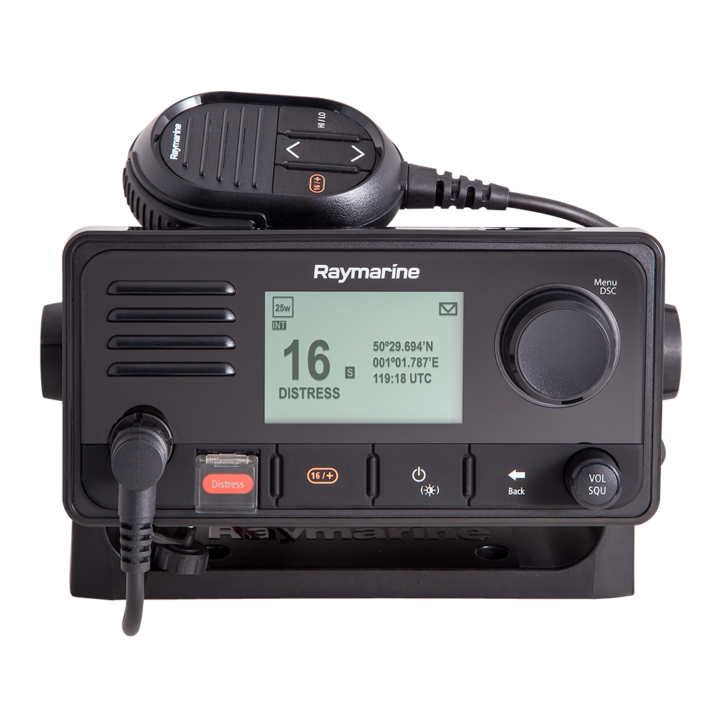 Raymarine Ray63 Dual Station VHF Radio with GPS - E70516