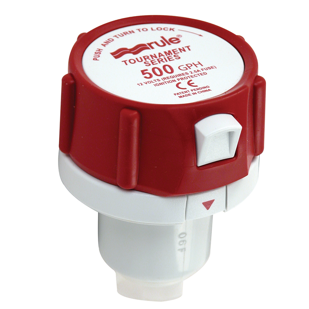 Rule 500 GPH Replacement Motor Cartridge for Tournament Series Pumps - 45DR