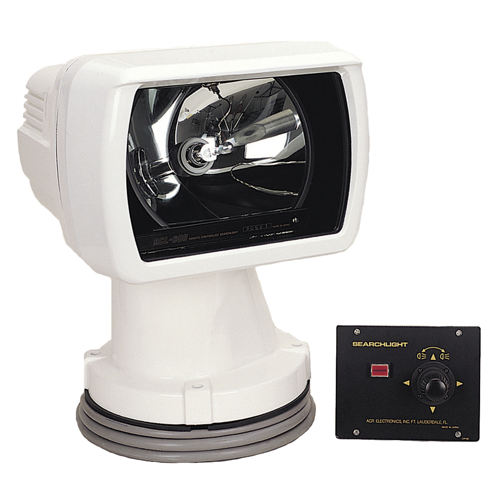 ACR RCL-600A Remote Controlled Searchlight w/Joystick Panel CD-15008