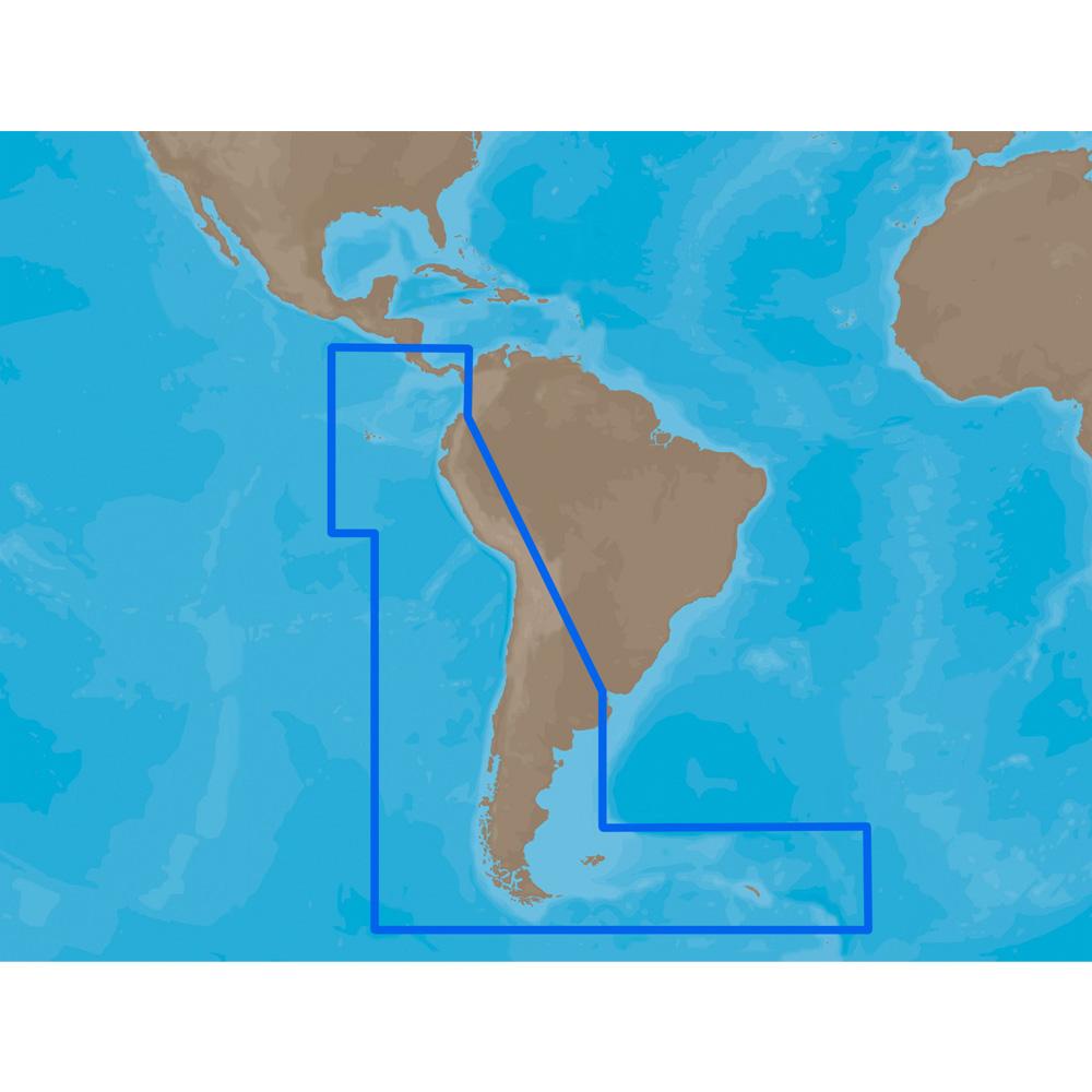 C-MAP MAX SA-M500 - Costa Rica-Chile-Falklands - C-Card - SA-M500C-CARD