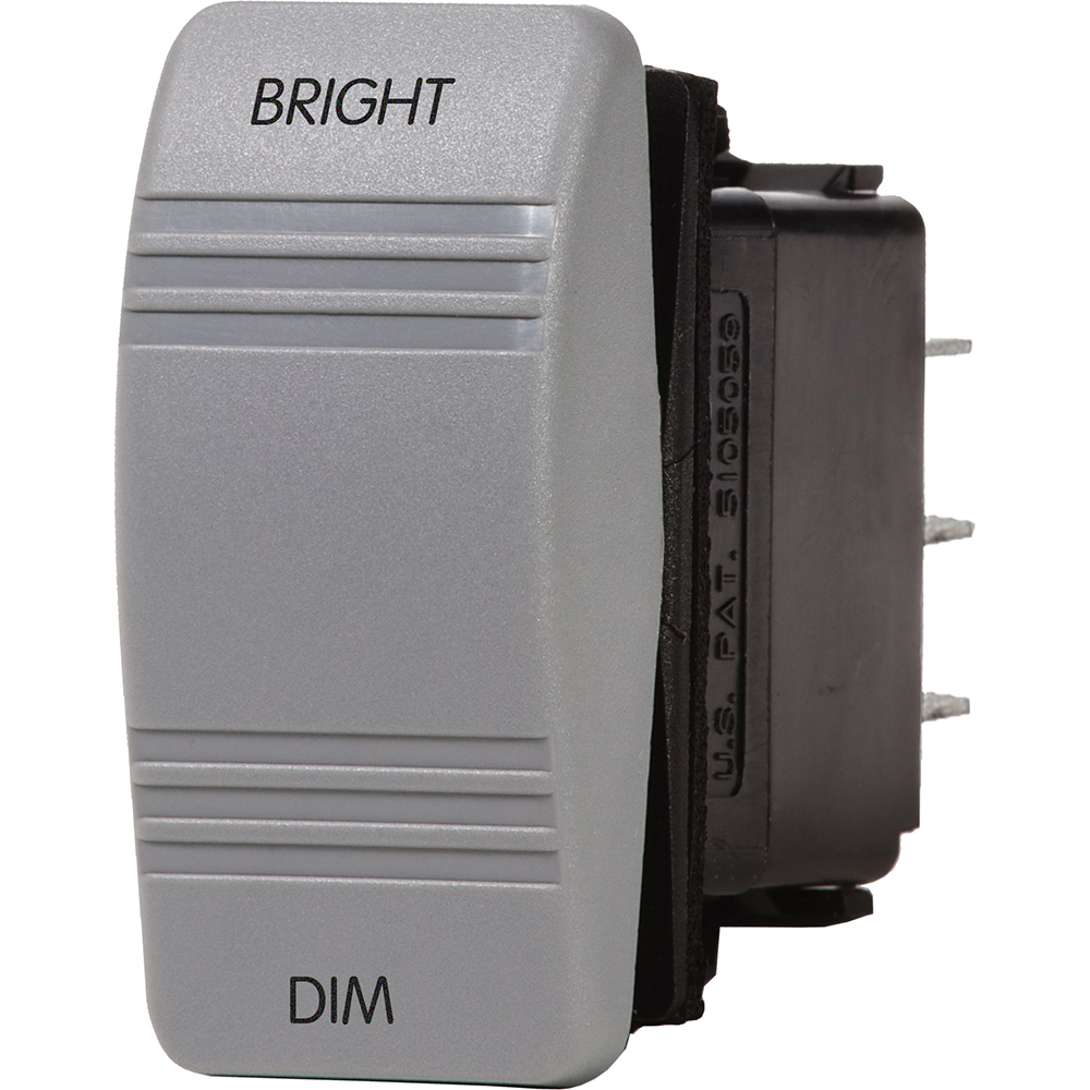 Blue Sea 8216 Dimmer Control Switch - Gray - 8216