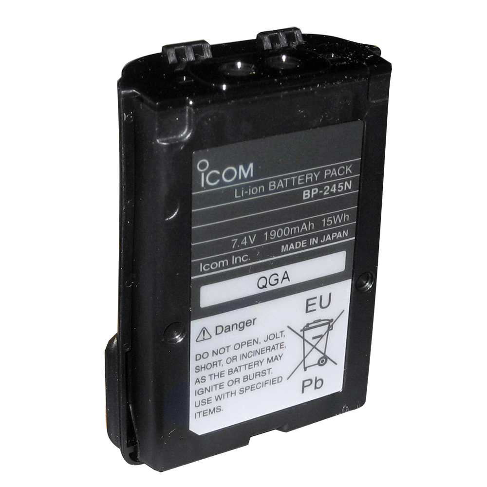 Icom Li-Ion Battery for M72 - BP245N