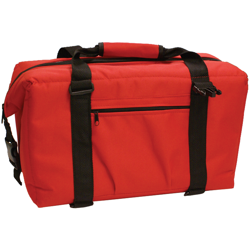 NorChill 24 Can Soft Sided Hot/Cold Cooler Bag - Red - 9000.5