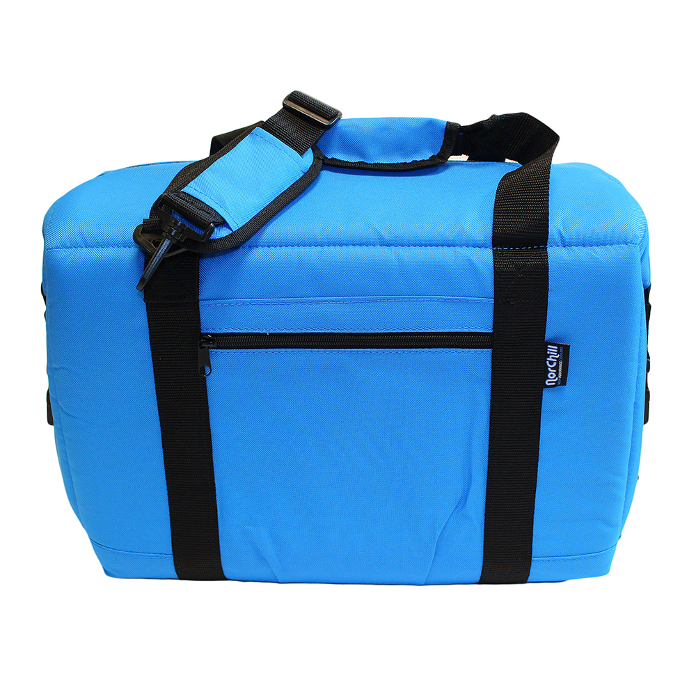 NorChill 24 Can Soft Sided Hot/Cold Cooler Bag - Blue - 9000.51