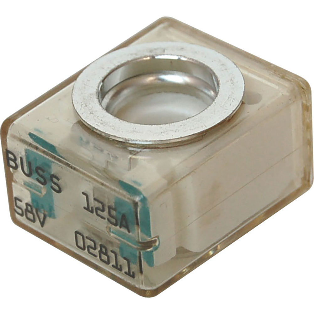 Blue Sea 5184 Buss 125a 58v Dc Fuse Terminal For Use With Box Block