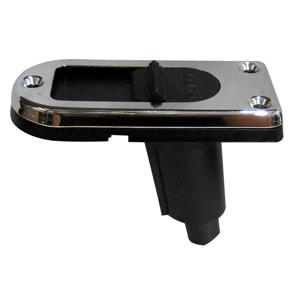 Perko Locking Collar Pole Light Mounting Base - 2 Pin - Chrome Plated - 1046P00DP