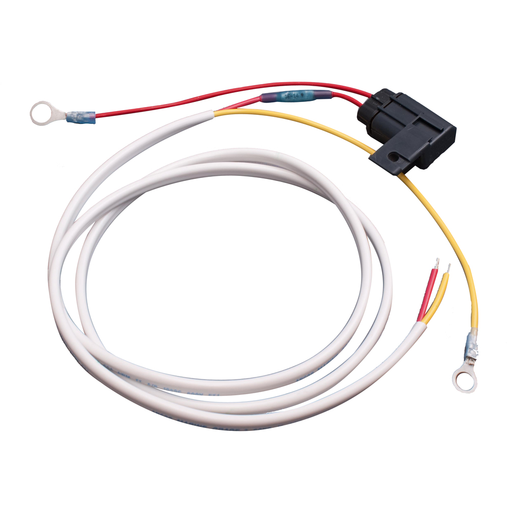 maretron battery harness with fuse for dcm100